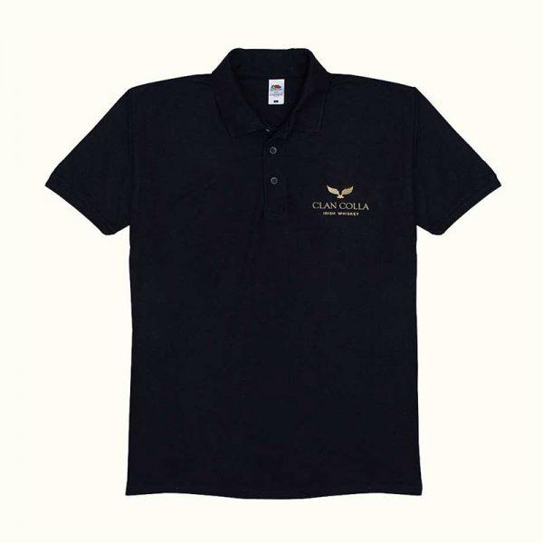 Clan Colla Polo Shirt - Black