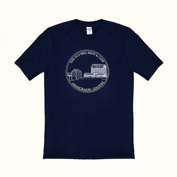 The Old Mill Shop & Café T-Shirt-Navy