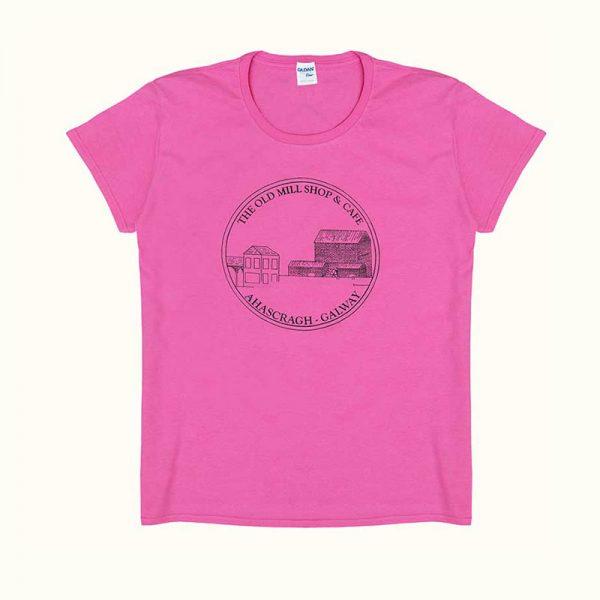 The Old Mill Shop & Café T-Shirt - Pink