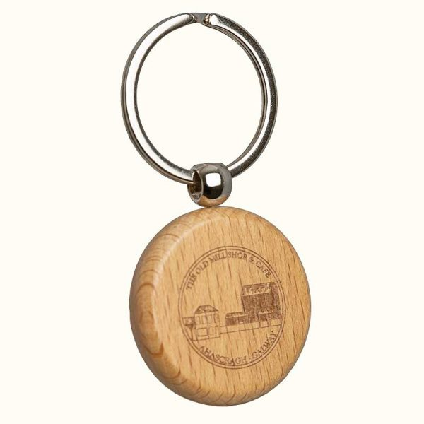 The Old Mill Shop & Café Wooden Key Ring