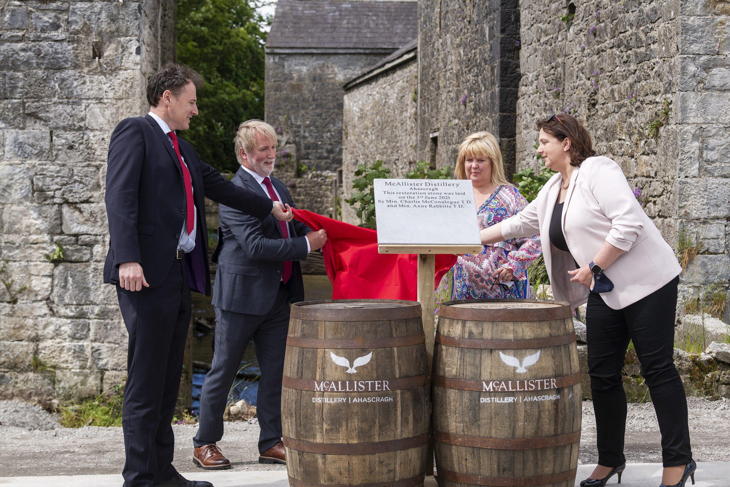 McAllister Distillery Project Launch